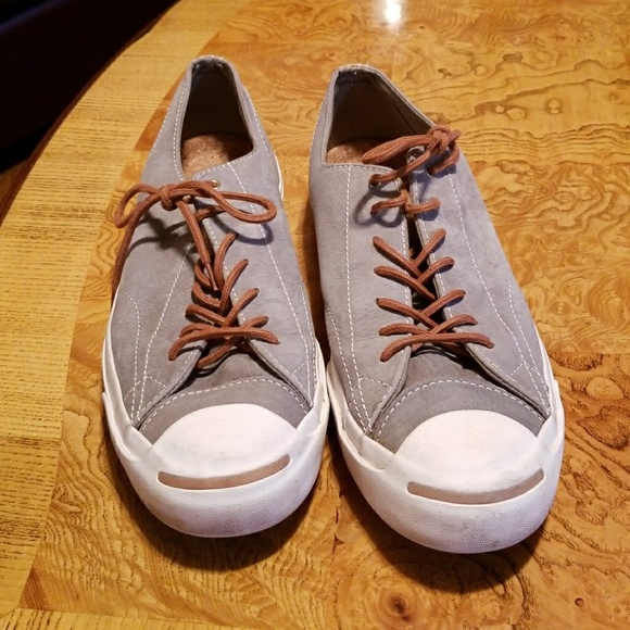 59a8c523fa51 Converse Other - Converse Jack Purcell Gray Leather MENS Shoes 11.5